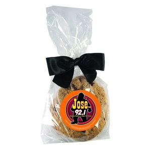 Custom Gourmet Cookie in Mini Gift Bag 3-Pack