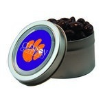 Candy Window Tin with Chocolate Raisins