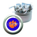 Candy Window Tin with Hershey Kisses