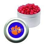 Candy Window Tin with Cinnamon Red Hots