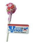 Dum Dum Pop with Flag
