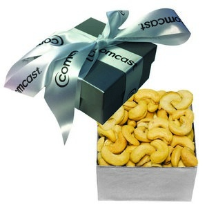The Classic Cashew Nut Gift Box - Silver