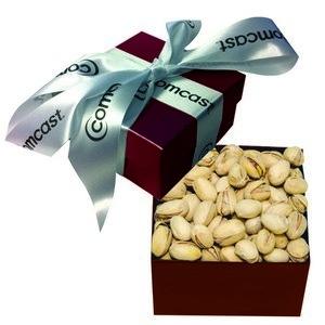 The Classic Pistachio Nut Gift Box - Burgundy