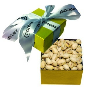 The Classic Pistachio Nut Gift Box - Gold