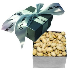 The Classic Pistachio Nut Gift Box - Silver