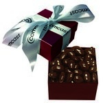 The Classic Chocolate Almond Nut Gift Box - Burgundy