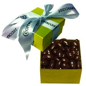The Classic Chocolate Almond Nut Gift Box - Gold 