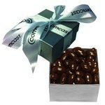The Classic Chocolate Almond Nut Gift Box - Silver
