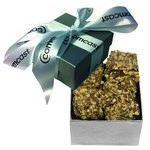 The Classic Almond Butter Crunch Box - Silver