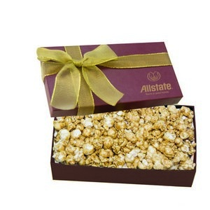 The Executive Popcorn Box - Burgundy