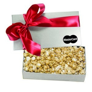 The Executive Popcorn Box - Silver
