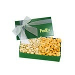 The Executive Cashew & Pistachio Box - Green