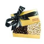 The Executive Chocolate Covered Almond & Pistachio Box - Gold