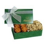 The Executive Almond Butter Crunch & Cashew Turtle Box - Green