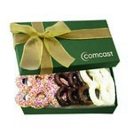 The Executive Pretzel Gift Box - Green