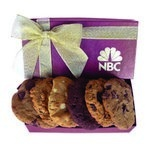 The Executive Custom Cookie Gift Box - Burgundy