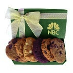 The Executive Custom Cookie Gift Box - Green