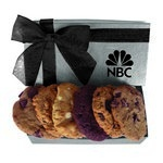 The Executive Custom Cookie Gift Box - Silver