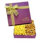 The Chairman Custom Popcorn Gift Box - Burgundy