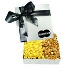 The Chairman Custom Popcorn Box - Silver