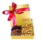 The Chairman Popcorn & Cookie Box - Gold