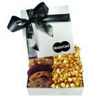 The Chairman Popcorn & Cookie Box - Silver