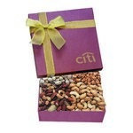 The Chairman Nut Gift Box - Burgundy