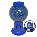 Blue Gumball Machine with Corporate Jelly Beans
