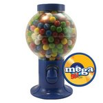 Blue Gumball Machine with Gum