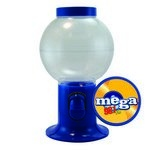 Blue Gumball Machine Empty with Logo