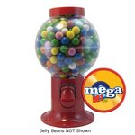 Red Gumball Machine with Corporate Jelly Beans