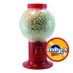 Red Gumball Machine with Logo and Signature Peppermints