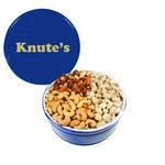 The Grand Tin with Mixed Nuts, Pistachios & Cashews - Blue