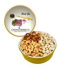 The Grand Tin with Mixed Nuts, Pistachios & Cashews - Gold