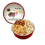 The Grand Tin with Mixed Nuts, Pistachios & Cashews - Red