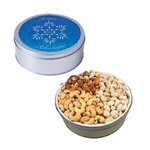 The Grand Tin with Mixed Nuts, Pistachios & Cashews - Snowflake D