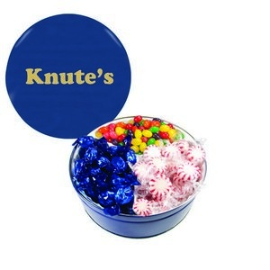 The Grand Tin with Starlite Mints, Jelly Beans & Hard Candy -Blue 