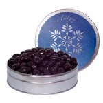 The Grand Tin with Chocolate Almonds- Snowflake Design