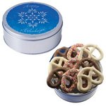 The Grand Pretzel Tin - Snowflake Design