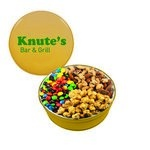 The Royal Tin with M&M's, Nuts & Caramel Popcorn - Gold