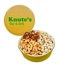 The Royal Gift Tin with Nuts - Gold 