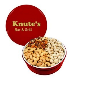 The Royal Gift Tin with Nuts - Red