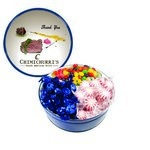 The Royal Tin with Mints, Jelly Beans & Hard Candy - Blue