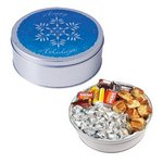 The Royal Tin with Mints, Jelly Beans & Hard Candy - Snowflake De