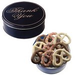 The Royal Pretzel Tin - Thank You Design