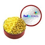 The King Size Popcorn Tin - Red
