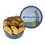 The King Size Cookie Tin - Blue