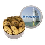 The King Size Cookie Tin - Silver