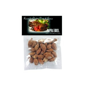 Large Candy Bag (with Header Card) with Almonds