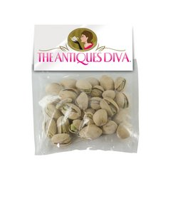 Large Candy Bag (with Header Card) with Pistachios